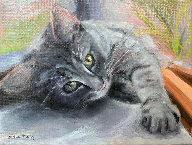 Alison's Cat by Doris Mady