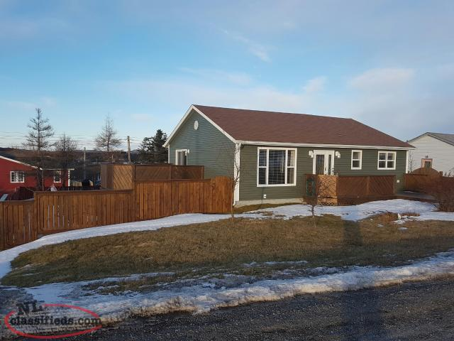 Furnished Bungalow With Garage Arnolds Cove Newfoundland