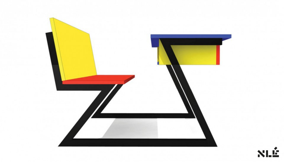 A selection of architectural projects by nle amsterdam for Furniture 4 schools