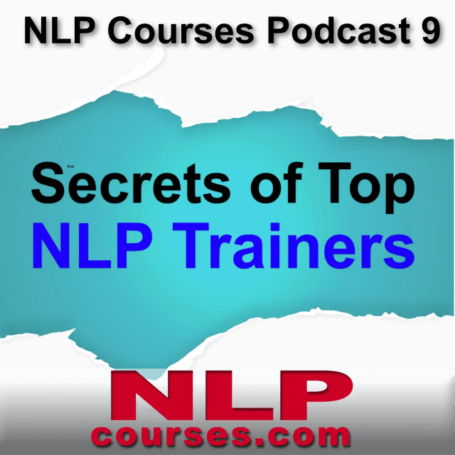 NLP Courses Podcast Secrets of NLP Trainers