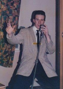 John Cassidy-Rice with hair