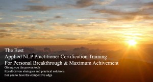 Applied NLP Practitioner Training for Success in Neuro-Semantics Malaysia
