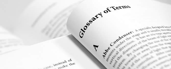 Glossary of Terms | NLP World