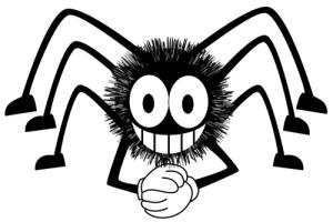 cartoon spider nlp
