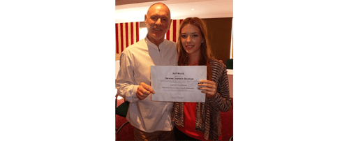 girl with nlp certificate