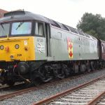Class 47205/395 at Boughton during 2014. Photo: G.R. Titmuss