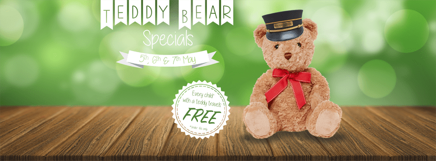 Teddy Bear Weekend 5th, 6th & 7th May