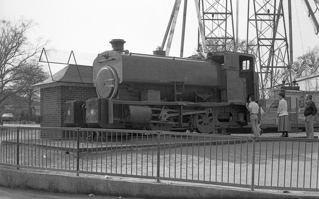 Ex-Wicksteed Park loco arrives at NLR for restoration