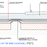 Bridge 11: Cross-section at a tie-bar location