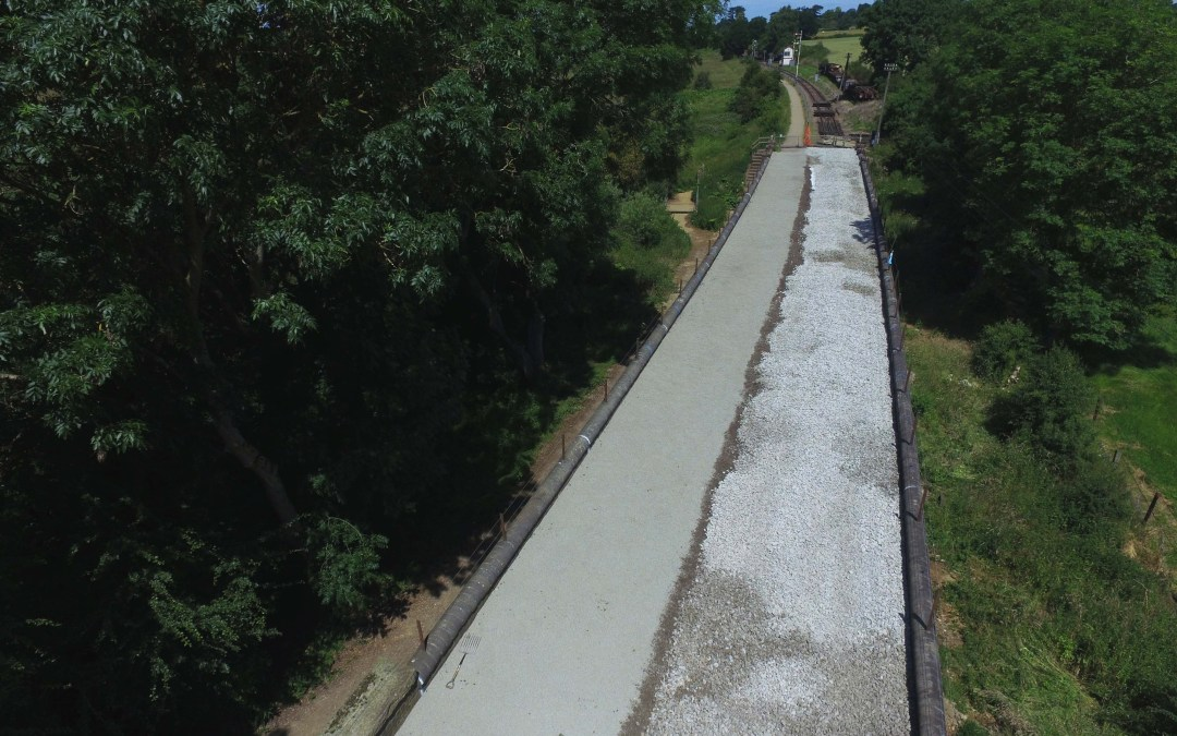 Boughton Extension: Phase 1 of Bridge 11 works complete!
