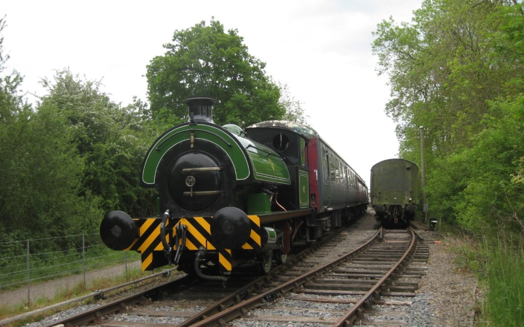 We Have Steam! Welcome 'Eustace Forth'