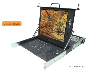 rugged military certified display  csc-17-cat5a-810-sk-MIL-cert