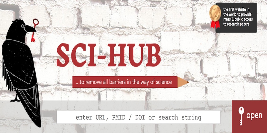SCI-HUB CASE: LEGALLY REMOVING THE BARRIERS IN THE WAY OF SCIENCE