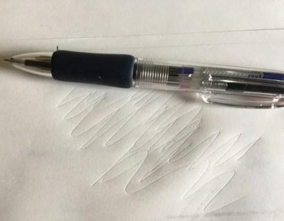 100均ボールペン、買ったばかりなのに書けない!