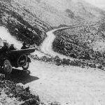 Old photo of La Bajada Hill