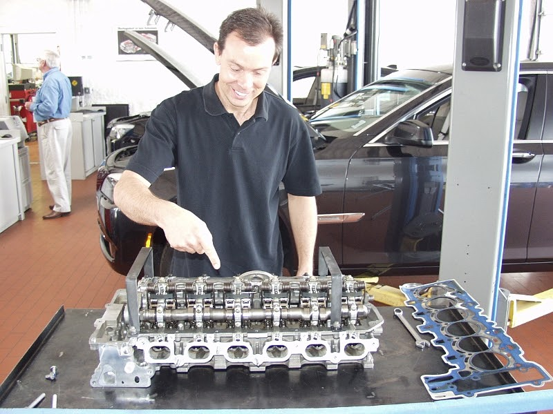 Photo from the 2009 Santa Fe BMW Tech Session