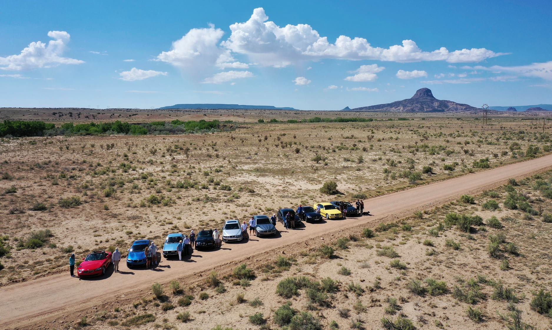 Photo from the NM BMW CCA Aug 2020 Drive