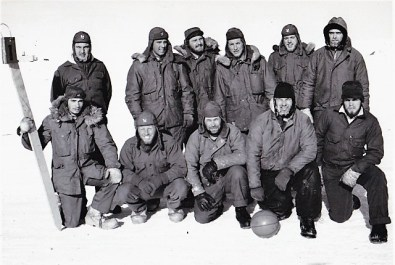 Eight's winning football team