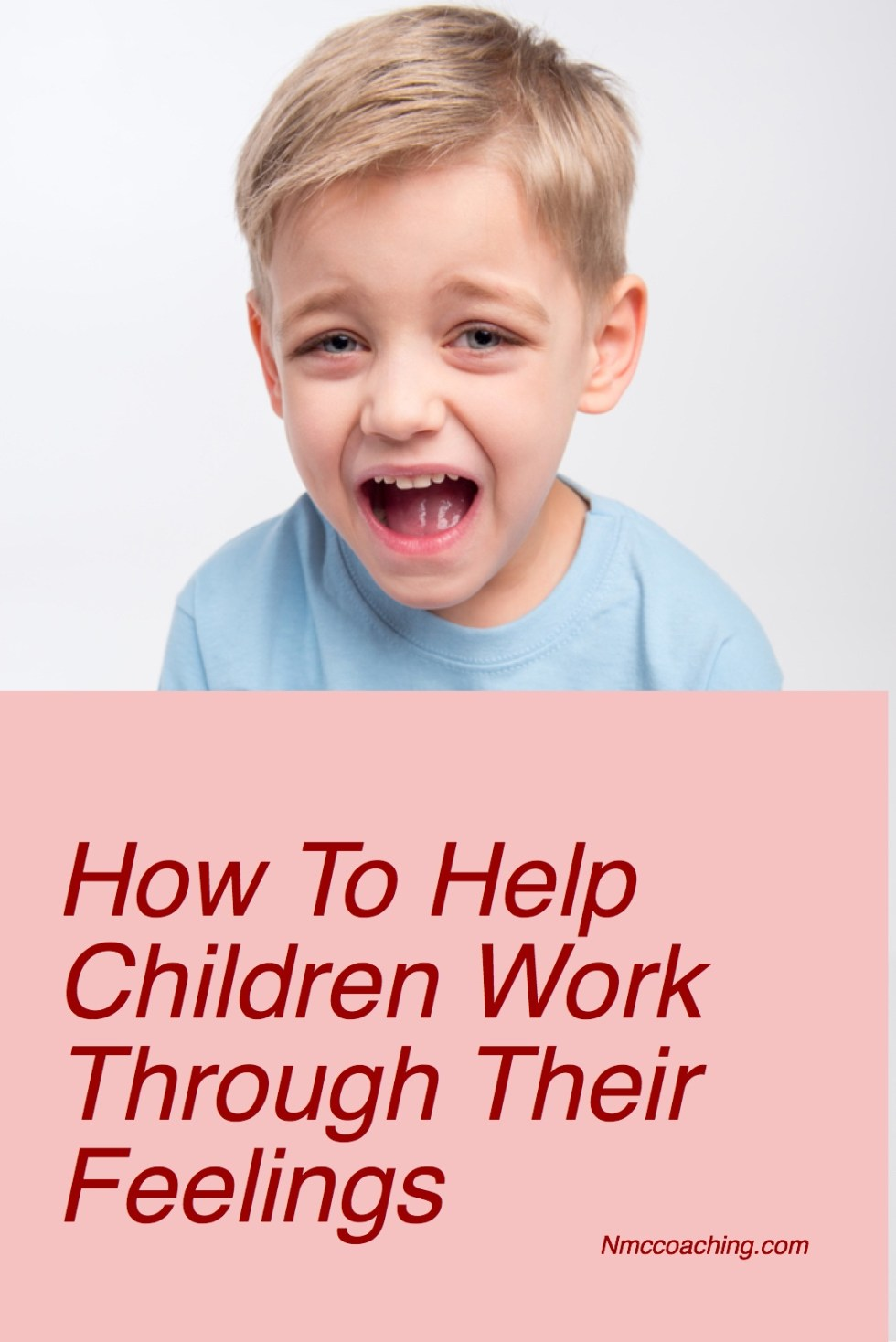 How to help children work through their feelings