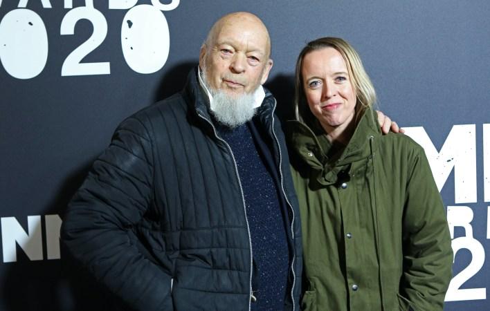 Michael and Emily Eavis Glastonbury