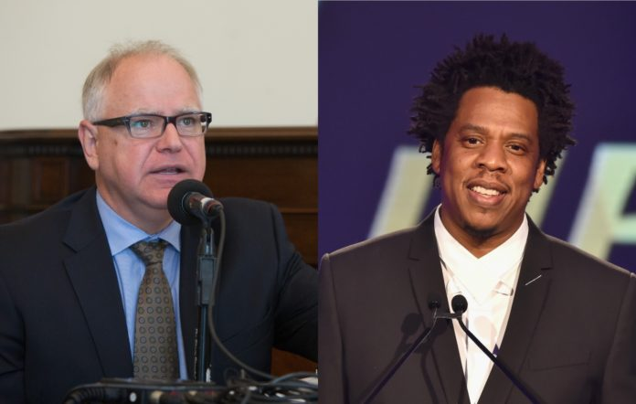 Minnesota Governor says Jay-Z called him seeking justice for ...