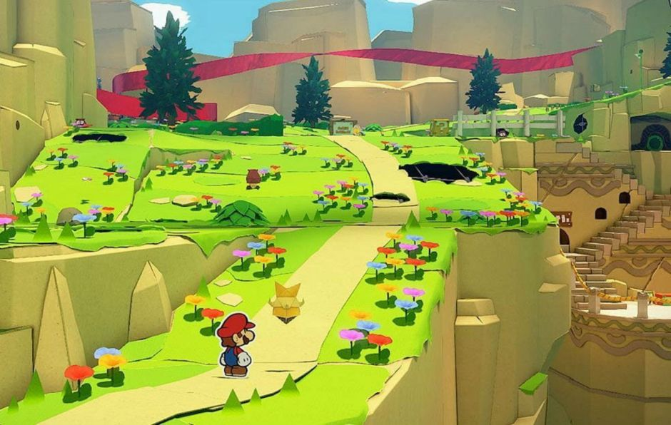 New 'Paper Mario: The Origami King' gameplay has been released