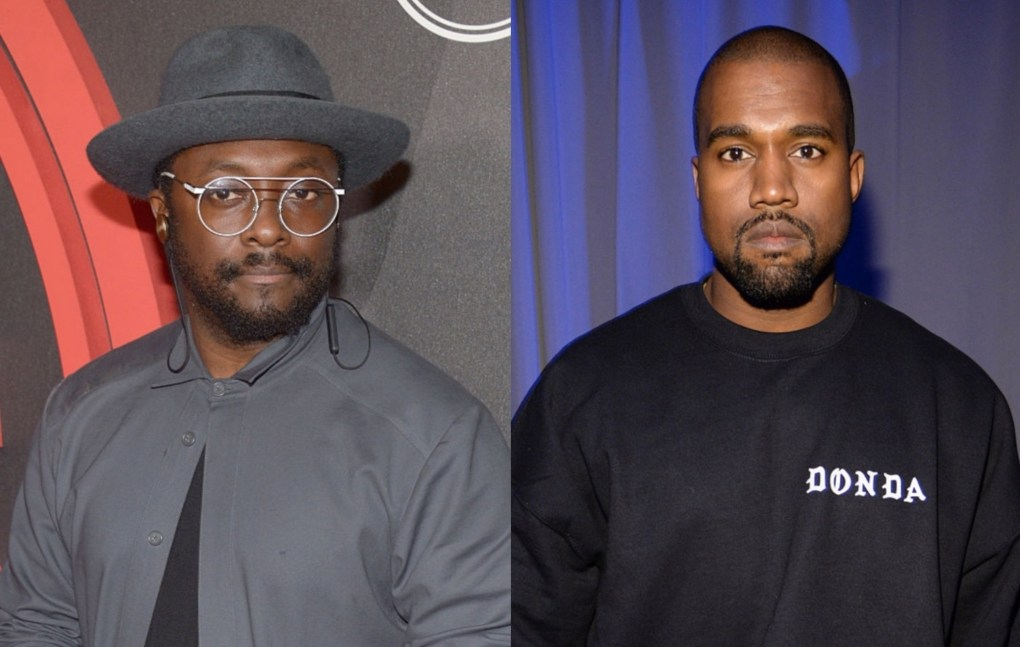 """, Will.i.am calls Kanye West's presidential bid """"a dangerous thing to be playing with"""", Shop Ticket Snatchers"""