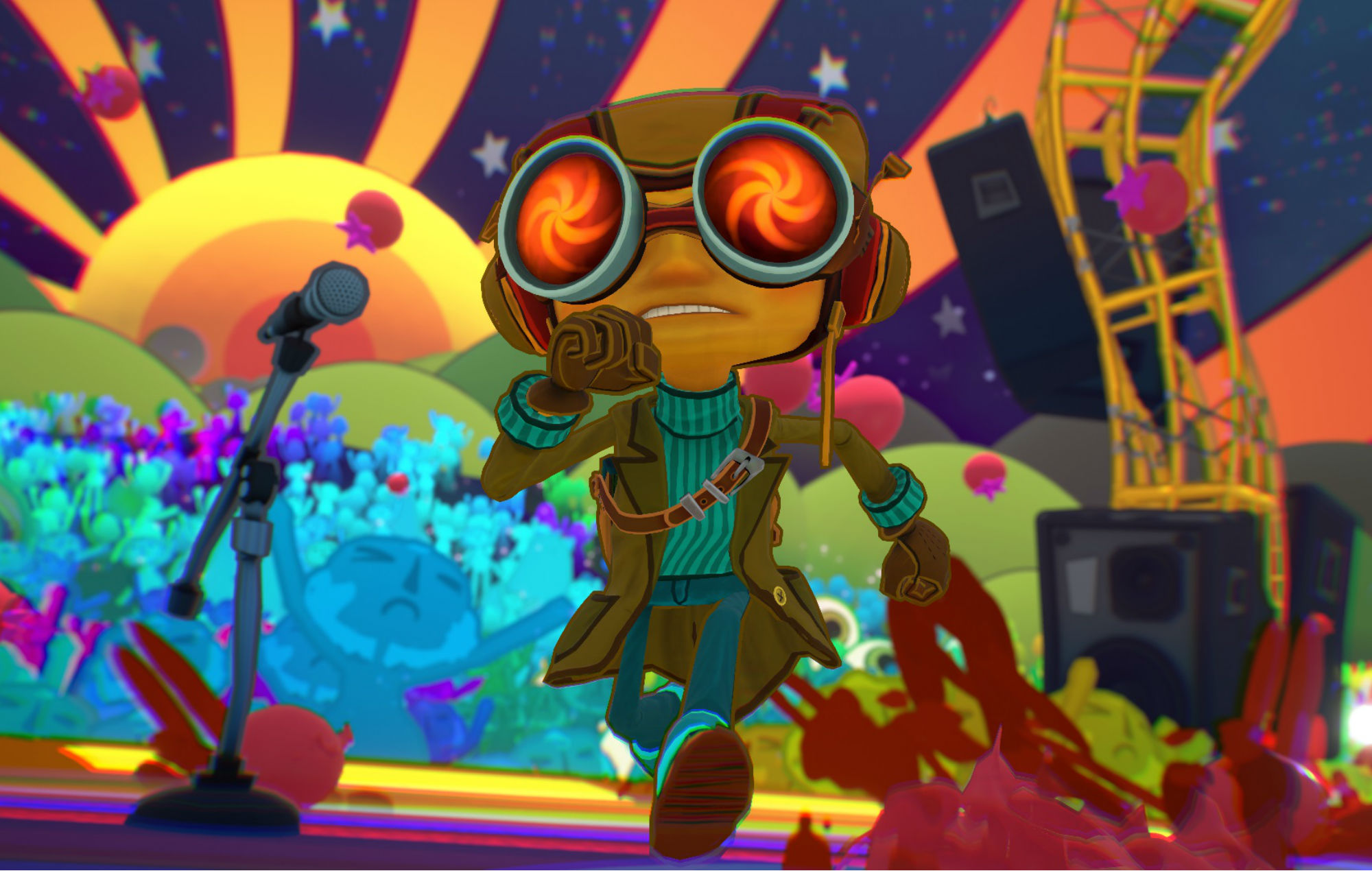 'Psychonauts 2' 'can be played' and is coming out sometime this year