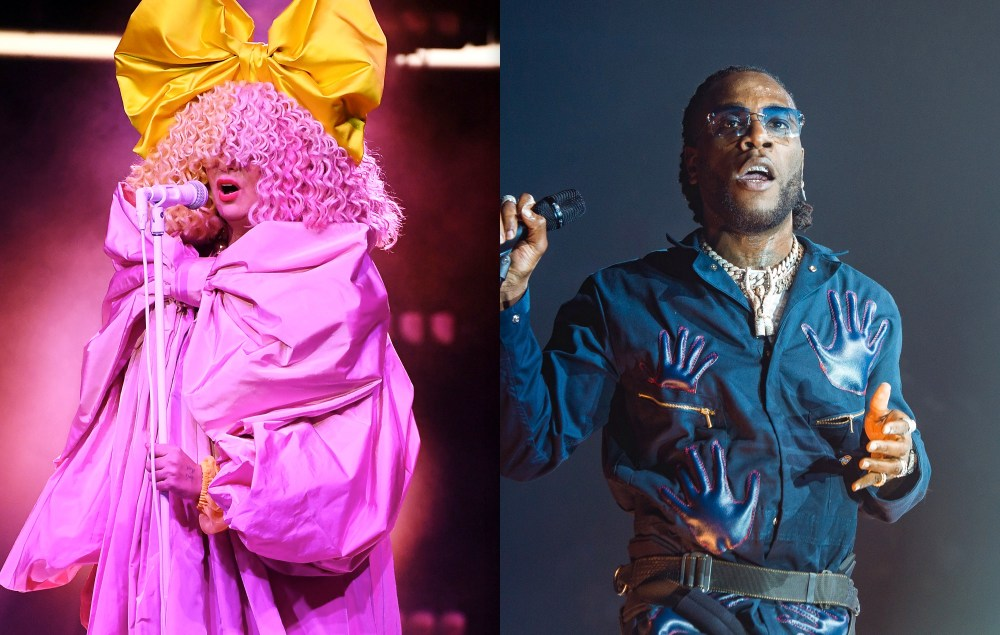Sia announces new version of 'Hey Boy' with Burna Boy | NME