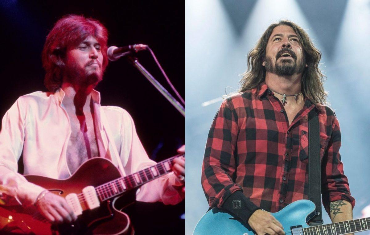 Luister naar de Foo Fighters cover van The Bee Gees 'discoklassieker 'You Should Be Dancing'