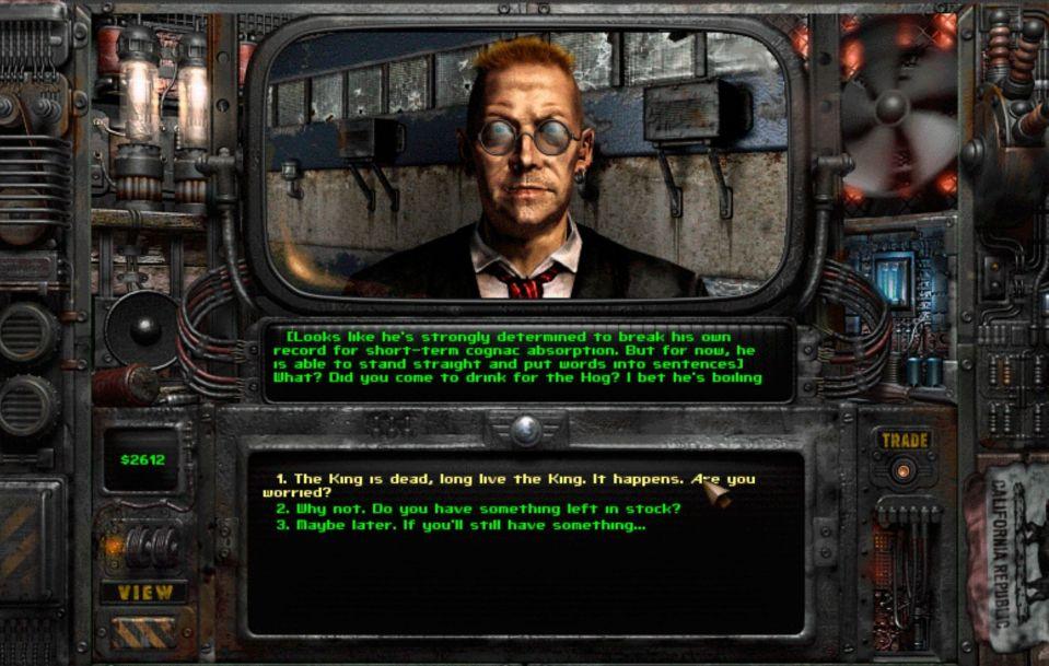 Fallout 2 mod Olympus 2207