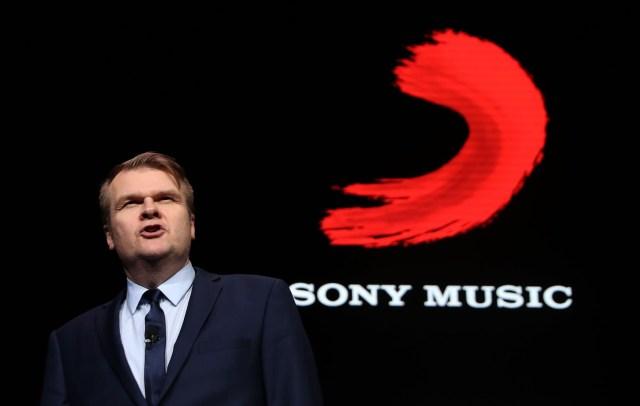 Sony Music Rob Stringer