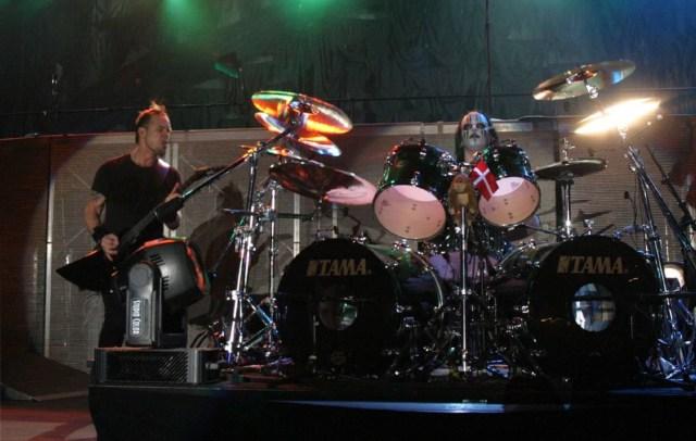 Joey Jordison with Metallica