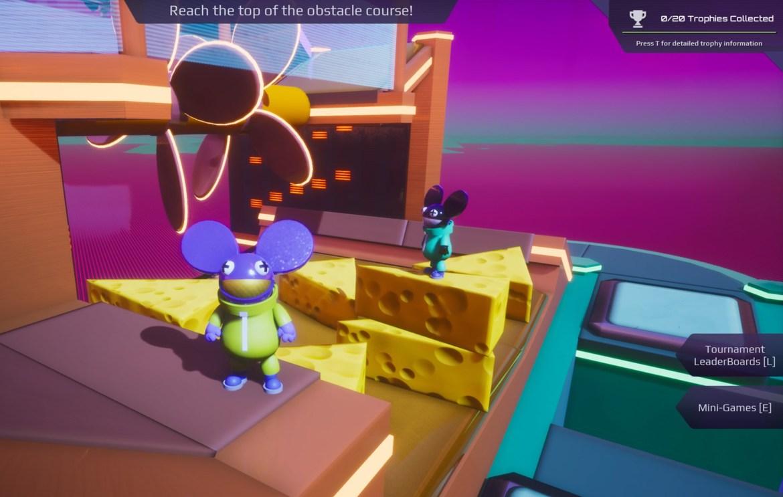 Deadmau5 minigame core