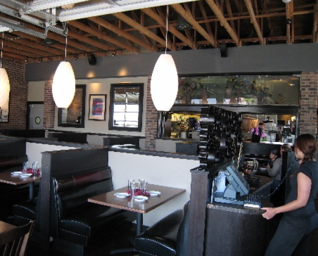 The interior of the Nob Hill Bar & Grill