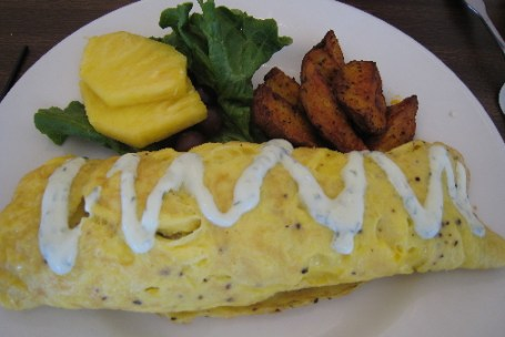 Green Chile Cheese Omelette