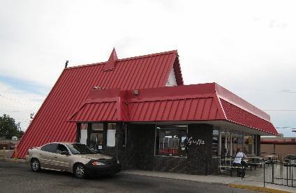 The familiar Griff's architecture.