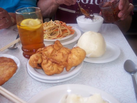 Pork buns and more (courtesy of Kathy Perea)