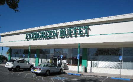 Evergreen Buffet on Menaul