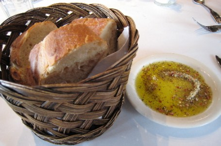 Warm, fresh bread from Fano Bakery in every meal.