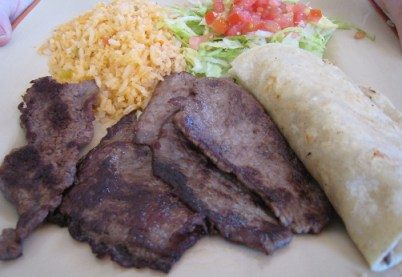 Steak Tampiquena