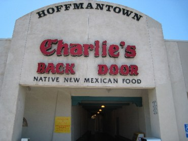 At this point you're 25 feet away from Charlie's back door.