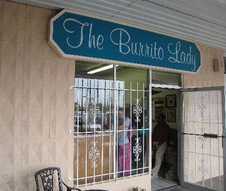 The Burrito Lady restaurant proves great food can be prepared in the tiniest of kitchens.