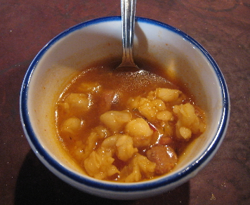 Complementary posole