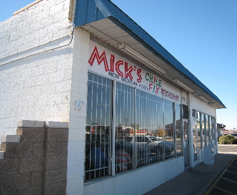 Mick's Chile Fix on Candelaria