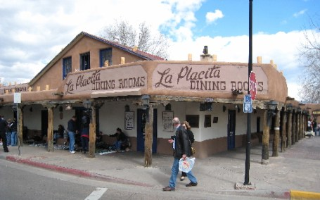 La Placita Dining Rooms in Albuquerque's Old Town.