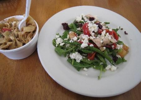 Pasta Salad and Chop Chop Salad