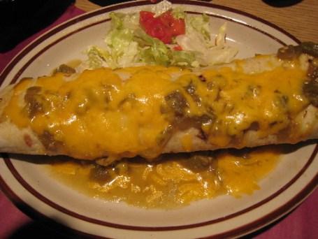 Mama's burrito