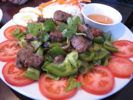 Cafe Dalat's rendition of cube steak