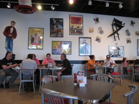 A 50s/60s movie and pop theme at the Riverside Plaza Weck's